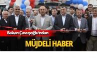 Bakan Çavuşoğlu'ndan müjdeli haber