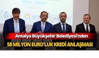 Büyükşehir'den kredi anlaşması