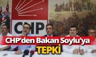 CHP Antalya örgütü Bakan Soylu'ya tepki gösterdi.