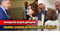 Demirel kardeşler Erdoğan ile görüştü