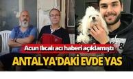 Genç Alper'in Antalya'daki evinde yas