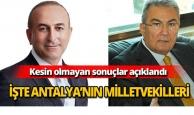 İşte Antalya'nın yeni Milletvekilleri