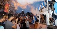 Kemer'de Altın Nar festival başladı