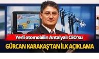 Mehmet Gürcan Karakaş'tan ilk açıklama
