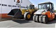 Muratpaşa Fen İşleri Müdürlüğü'nün araç filosuna yeniler eklendi