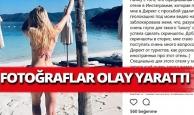 Rus kadının tatil görüntüleri olay oldu