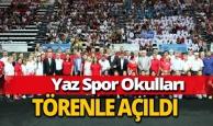Antalya yaz spor okulları törenle açıldı