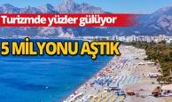 Antalya 5 milyonu aştı