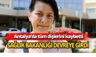 Antalya'da çaresiz kadına Sağlık Bakanlığı destek verdi
