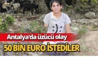 Antalya'da proteze 50 bin Euro istediler