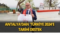 Antalya'dan tarihi destek