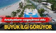 Antalya'nın yeni çekim merkezi oldu