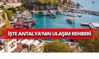 Antalya ulaşım rehberi