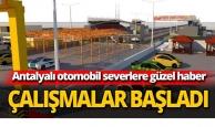 Antalyalı otomobil severlere güzel haber