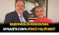 Başkonsolos Rogoza'dan mygazete.com'a 4'üncü yaş ziyareti