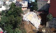 Çökme nedeniyle yıkılan binanın incelemesi bitti