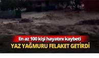 En az 100 kişi hayatını kaybetti