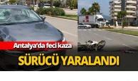 Antalya'da feci kaza