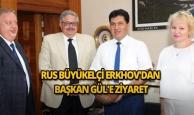 Rus Büyükelçi Erkhov'dan Başkan Gül'e ziyaret