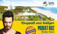 Sahil Antalya'da Murat Boz konseri