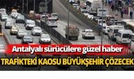 Trafikteki kaosu büyükşehir çözecek