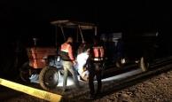 Traktörle çarpışan motosikletli öldü