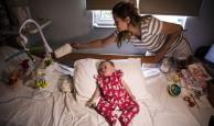 5,5 aylık Selin bebekten mucize