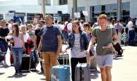 Antalya Havalimanı'ndan dakika bazında rekor