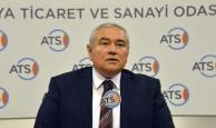 """ATSO Başkanı Çetin, """"Dövize bağlı bütün girdilerin fiyatları arttı"""""""