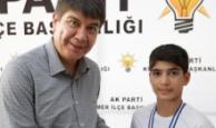 Başkan Türel'den başarılı genç sporcumuza hediye