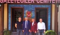 Başsavcı Solmaz'dan AGC'ye veda ziyareti