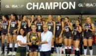 Gloria Cup'ın şampiyonu Türkiye