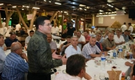 Kepez Belediye Başkanı Tütüncü, 66 muhtarla bir araya geldi