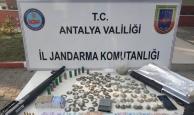 Manavgat'ta uyuşturucu operasyonlarında 51 kişiye gözaltı