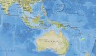 Pasifik Adası'nda 7.1 büyüklüğünde deprem