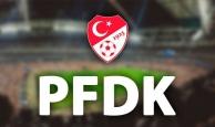 PFDK o futbol kulüplerine para cezası kesti