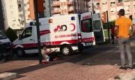 Yaralı adam sağlık görevlisine saldırdı