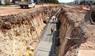 Antalya'da 25 kilometrelik raylı sistem çalışmaları devam ediyor