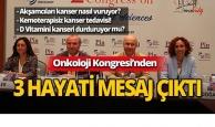 Antalya'da 2. Uluslararası Onkoloji Bilimleri Kongresi