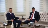 Antalya İl Emniyet Müdürü Başkan Türel'i ağırladı