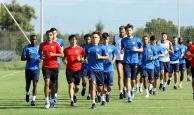 Antalyaspor rejenerasyon idmanı yaptı