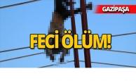Antalya'da sera inşaatında çalışan işçi elektrik akımına kapıldı