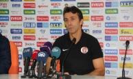 Bülent Korkmaz, maçtan sonra basın toplantısında konuştu