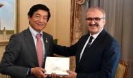 Büyükelçi Miyajima'dan Antalya'ya övgü