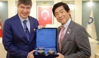 Büyükelçi Miyajima'dan Başkan Türel'e ziyaret