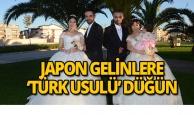 Japon gelinlere 'Türk Usulü' düğün