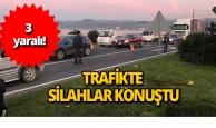 Trafikte tartıştığı kişileri vurdu: 3 yaralı