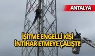 Antalya'da ilginç girişim