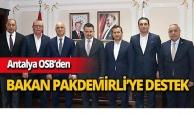 Sektör temsilcilerinden Bakan Pakdemirli'ye destek