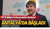 """Başkan Türel: """"Hedefimiz akıllı kent markasıyla marka şehirler arasına girmek"""""""